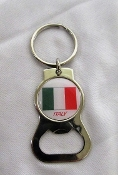Italian Keychain and Bottle Opener