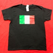 Italian Flag Crew Neck T-Shirt